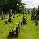 Scottish Graveyard by Pamela Maxwell