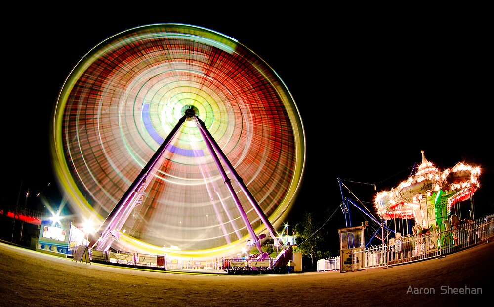 Birrarung Mar Ferris Wheels by Aaron  Sheehan