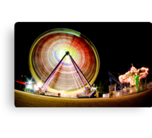 Birrarung Mar Ferris Wheels Canvas Print