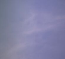 Light blue sky with clouds by GemaIbarra