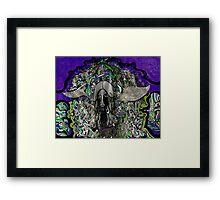 A dark angel  Framed Print