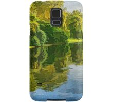 Impressions of Summer - St James's Park Lake Reflections Samsung Galaxy Case/Skin
