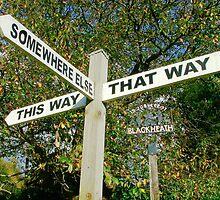 Err...Umm.... Ahhh..... Map Anyone?..... by Colin  Williams Photography