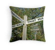 Err...Umm.... Ahhh..... Map Anyone?..... Throw Pillow