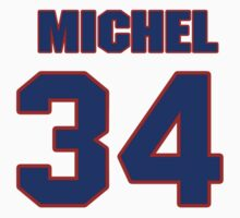 National Hockey player Michel Picard jersey 34 by imsport
