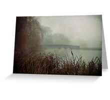 Foggy Five Arches Greeting Card