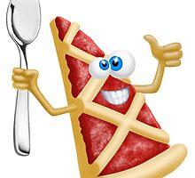 Funny pizza! by Vitalia