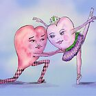 Ballet of the Hearts by Kim  Harris