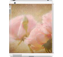 Summer Rose - Pale Pink Texture iPad Case/Skin