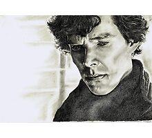 A Study of Sherlock Photographic Print