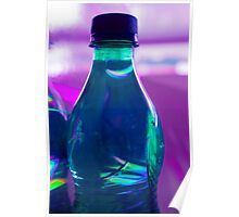 Bottle full of water Poster