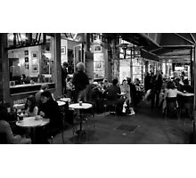 Melbourne Alley Coffee Shop Photographic Print