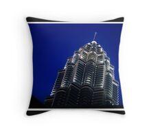 A Petronas Tower Throw Pillow