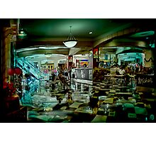 the local mall Photographic Print
