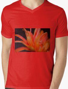 Flower Flames  Mens V-Neck T-Shirt