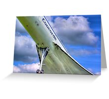 Concorde - 2 - Brooklands - HDR Greeting Card