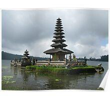 Ulun Danu Temple Poster
