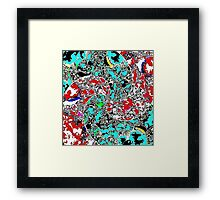 Whirlpool- An Ode to Hokusai and Hiroshige Framed Print