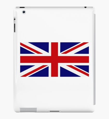 United Kingdom flag iPad Case/Skin