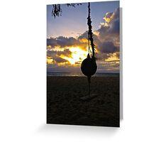Waimanalo Sunrise Greeting Card