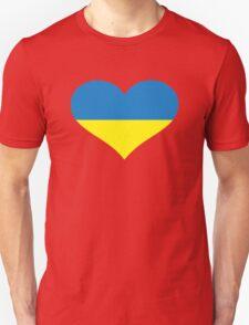Ukraine heart flag T-Shirt