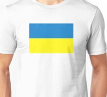 Ukraine flag Unisex T-Shirt