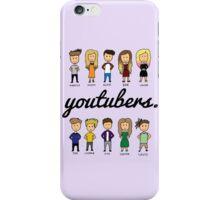 YOUTUBERS iPhone Case/Skin