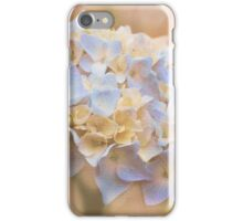 Floral Dream -  Pale BlueTexture iPhone Case/Skin