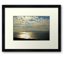 Rays Over Bantry Bay Framed Print