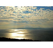 Rays Over Bantry Bay Photographic Print