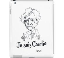 Je suis Charlie - Mark Twain iPad Case/Skin