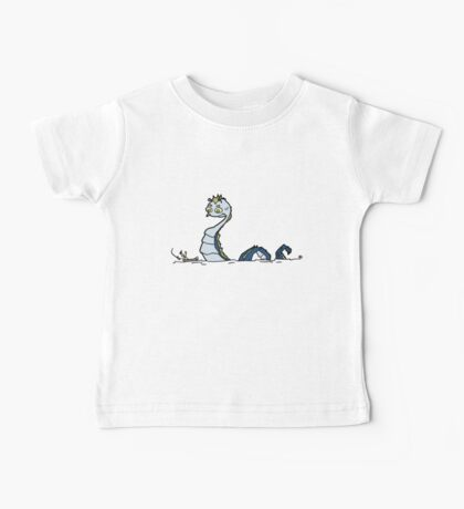 Sea Monster and Fishermen Baby Tee