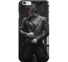 Starlord Pose Eye Color iPhone Case/Skin