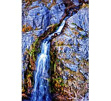 Waterfall Mount Timpanogos Photographic Print