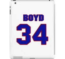 National Hockey player Boyd Kane jersey 34 iPad Case/Skin