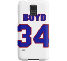 National Hockey player Boyd Kane jersey 34 Samsung Galaxy Case/Skin