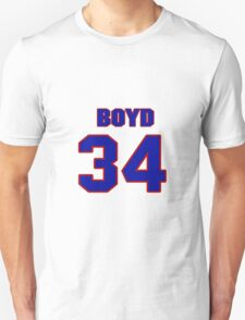 National Hockey player Boyd Kane jersey 34 T-Shirt