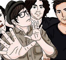 Fall Out Boy Fanart by Iristhereaper