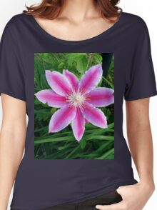 Purple flower :) Women's Relaxed Fit T-Shirt