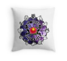All Things Serve The Beam  Throw Pillow