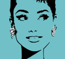 Audrey in Tiffany Blue Sticker