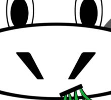 "Cow ""Go Veg"" Sticker"