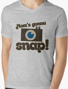 Mom's Gonna SNAP Mens V-Neck T-Shirt