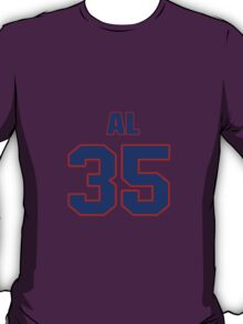 National Hockey player Al Montoya jersey 35 T-Shirt