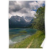 Lago di Landro Poster