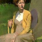 Sitting in Sun by Josef Rubinstein