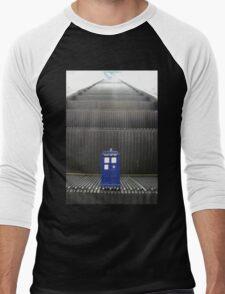Stairway to TARDIS Men's Baseball ¾ T-Shirt