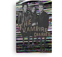 The Vampire Diaries  Canvas Print