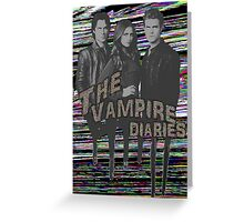 The Vampire Diaries  Greeting Card