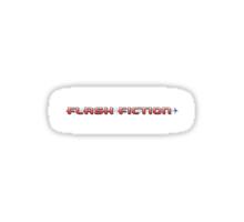Flash Fiction Sticker